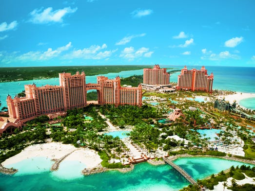 Atlantis Paradise Island is the largest resort in the