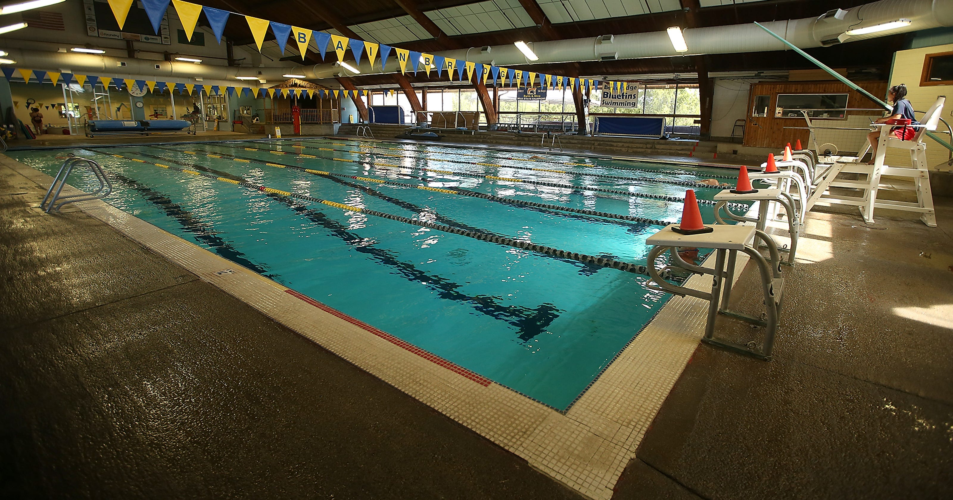 Bainbridge district considering repairs replacement for pool for Bainbridge island swimming pool