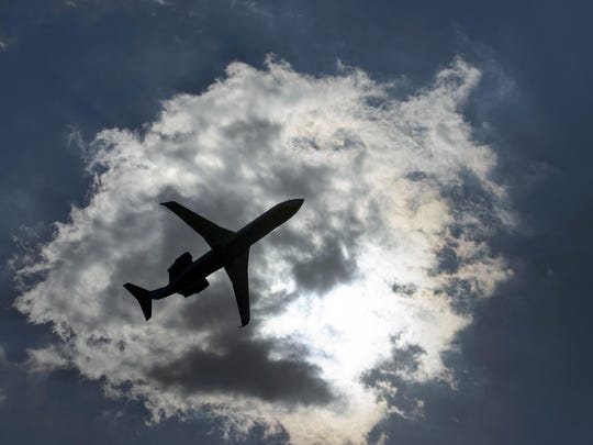 "Brendan Smialowski, AFP/Getty ImagesCiting a ""weather delay"" can save airlines thousands of dollars. A jet takes off from Washington's National Airport on July 24, 2015."