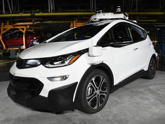 General Motors-Autonomous Vehicles