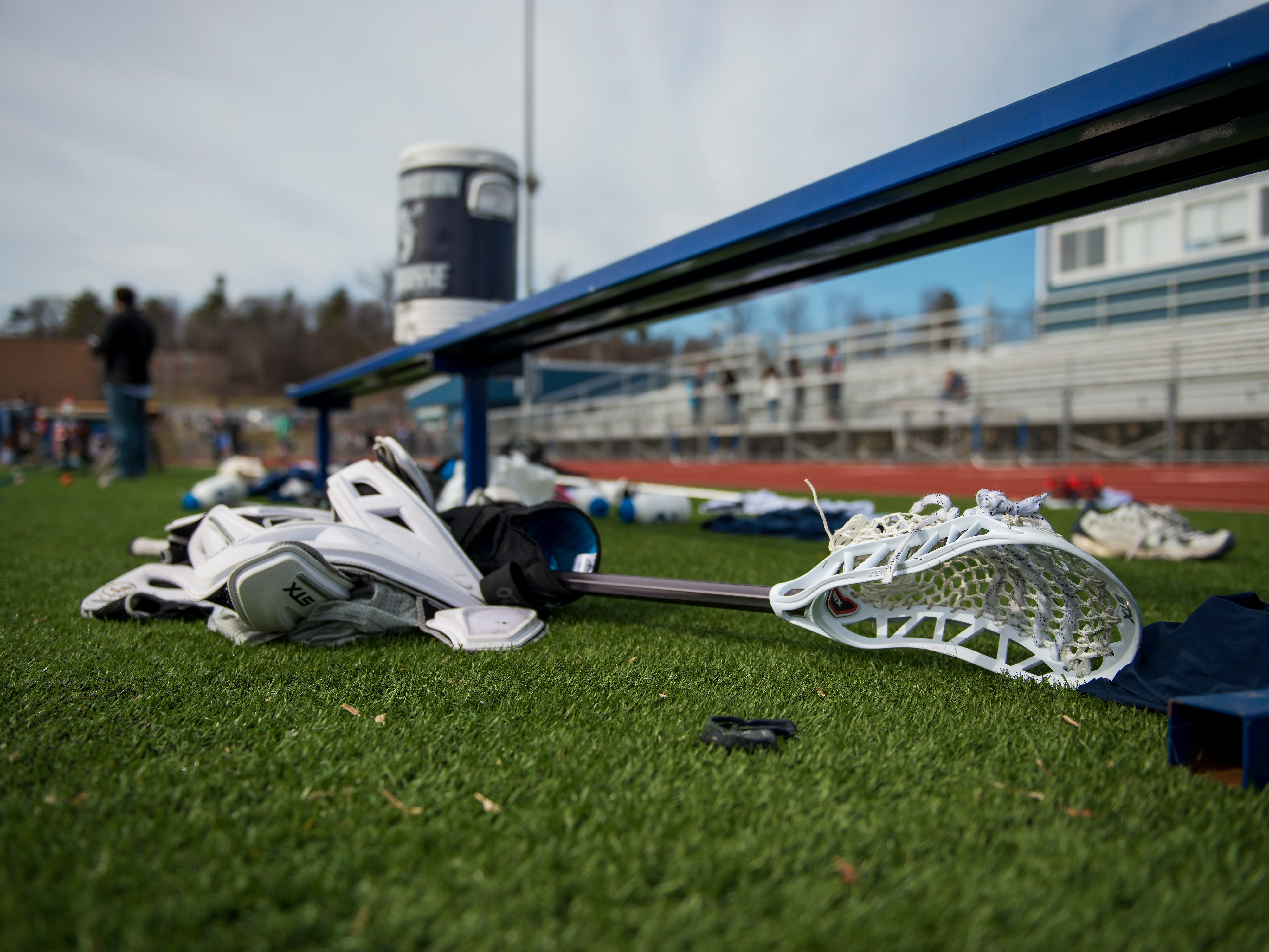 Colchester won the game, 11-10, in overtime. Mark Eley/For the Free Press