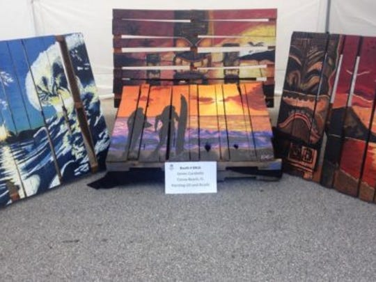 The Cocoa Beach Art Show takes place Thanksgiving weekend.