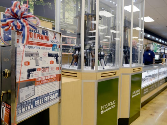 New firearm counter opens at Maxwell Base Exchange