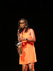 The celebration included a range of performances from singing, to dance, instrumentalists, including Devan Moore, saxophonist.