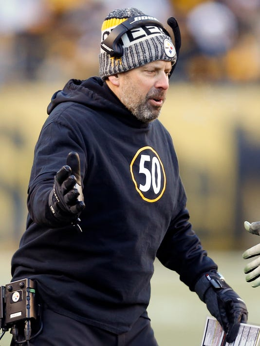 premium selection 6c744 6e3dc Steelers part ways with offensive coordinator Todd Haley