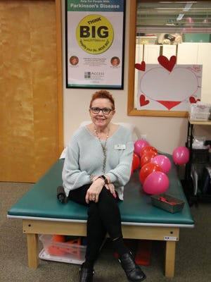 Ellen Knapp-Hayden, senior exercise specialist at Access Physical Therapy and Wellness in Port Jervis, started a support group for people with Parkinson's disease.