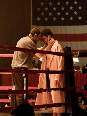 "Charlie Hunnam, left, and Jack O'Connell in a scene from ""Jungleland."""