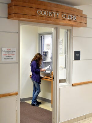 Courthouse offices are now receiving individuals on an appointment basis after being closed since March 17.
