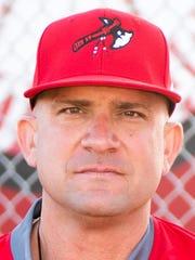 Vero Beach baseball coach Bryan Rahal