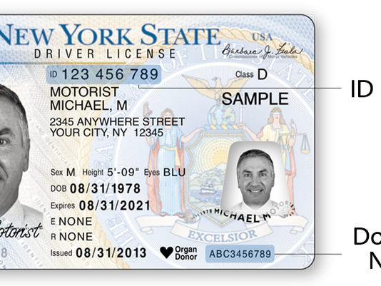 Allows temporary Print-at-home Driver Licenses Ny
