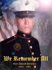 Gary Haisman was killed in Iraq.