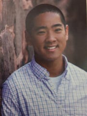 Charlie Tan in his 2013 Pittsford Mendon High School yearbook.