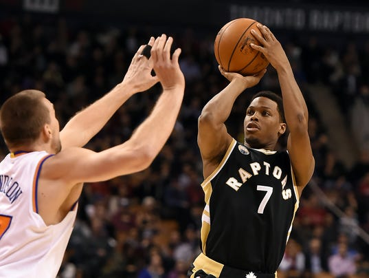 USP NBA: NEW YORK KNICKS AT TORONTO RAPTORS S BKN CAN ON