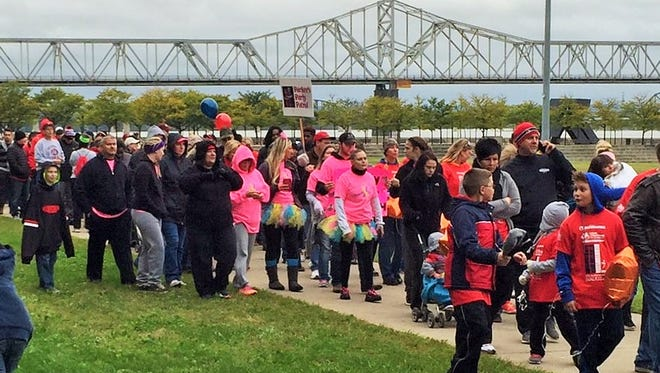 Downs Syndrome walk in Louisville on Oct. 3