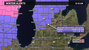A winter weather advisory is in effect until 4 p.m.