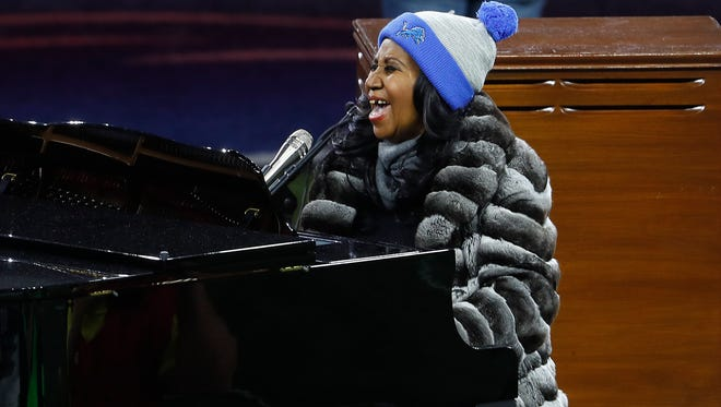 Aretha Franklin says after 2017, she'll focus on her grandchildren and perhaps some select projects.