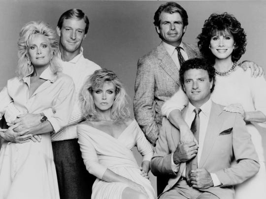 """Knots Landing"" with Joan Van Ark, Ted Shackelford, Donna Mills, William Devane, Kevin Dobson and Michele Lee (244 episodes)"