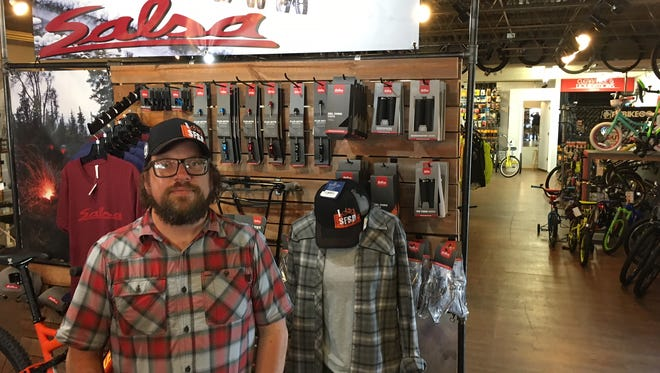 Chad Pickard, owner of Spoke-n-Sport, stands in his Sioux Falls store. Pickard recently opened a second location in Brookings.