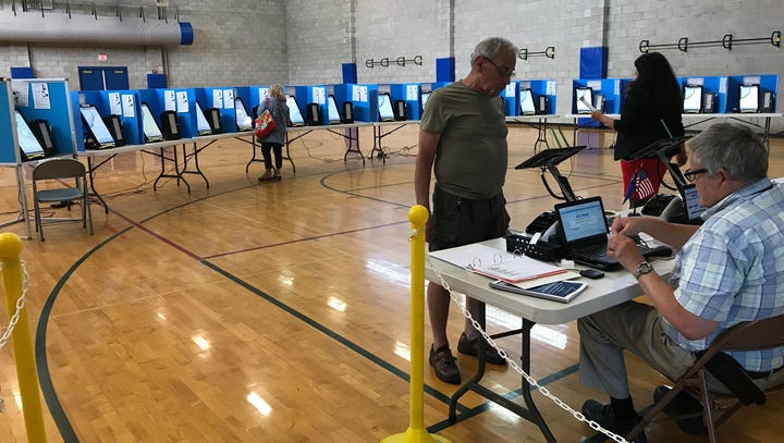 Washoe voter turnout hot during 2018 Nevada primary election