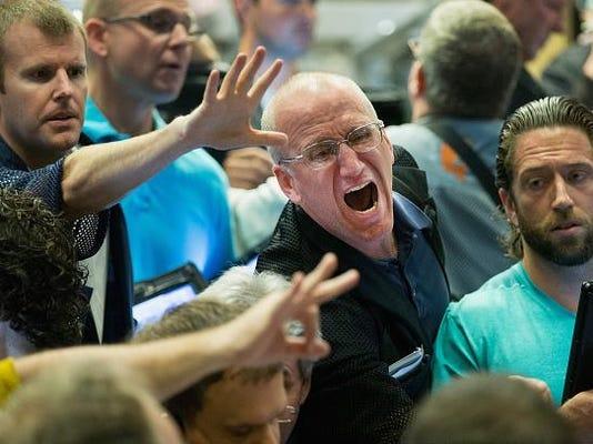 Global Markets Continue Last Week's Steep Decline