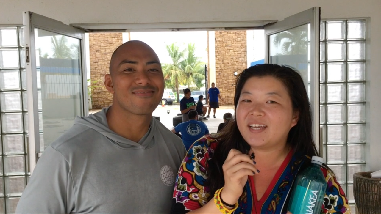 Whether it's rain or shine, everyone should stay hydrated to keep our body functioning properly. PDN reporter Sue Lee asks Ray Chargualaf of HÅTSA Guam, how much water someone should drink every day.
