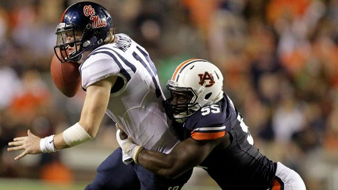 "Carl Lawson's return is ""up in the air,"" according to Gus Malzahn."