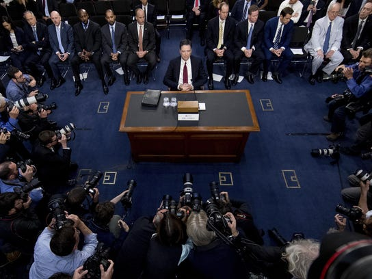 James Comey at Capitol Hill