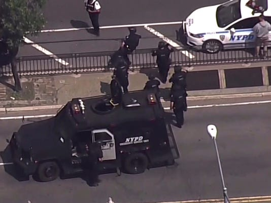 AP HOSPITAL SHOOTING A USA NY