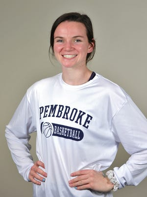 Katie Galligan of Pembroke High School has been named the Patriot Ledger All-Scholastic Girls Basketball Player of the Year.