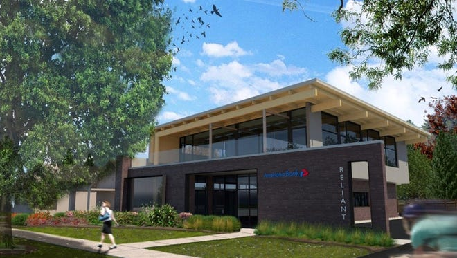 """Broad Ripple residents will soon find a """"digital concept banking center"""" along North College Avenue. Construction of a $1.5 million office project is complete."""