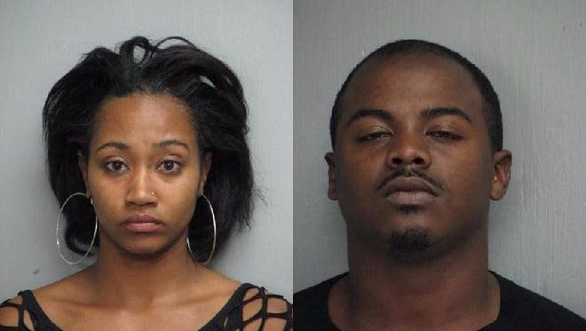 Candace Patrice Roberson (left) and DeShawn Dupree Lee