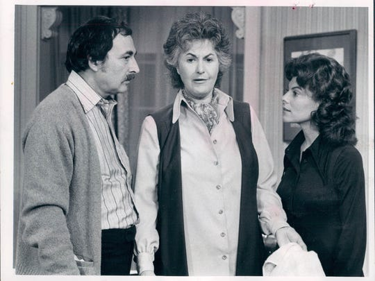 Bea Arthur (center) played the title character in 'Maude,' one of Norman Lear's 'All In The Family' spinoffs.