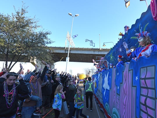 The 2019 Krewe of Gemini Parade is set to roll March 2 in Shreveport.