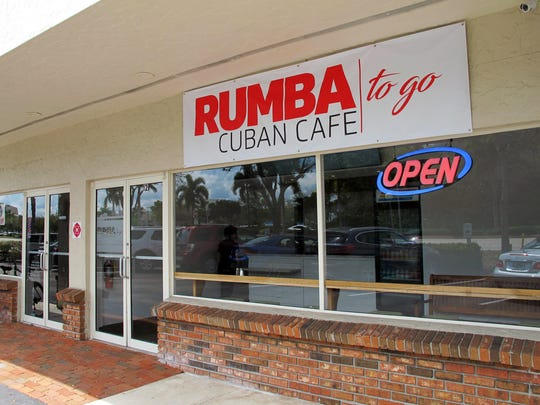 The new Rumba Cuban Cafe to Go, 9331 U.S. 41 N., unit 12, North Naples.