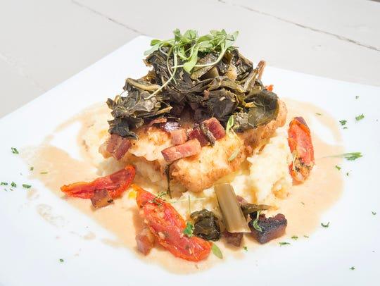 Pecan-Fried Mahi Mahi at Fish House in Pensacola on Wednesday, July 25, 2018. The ninth year of Winter Restaurant Week kicks off Monday.