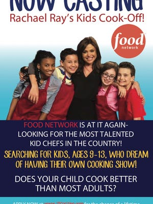 Rachael Ray is looking for young chefs to feature in her upcoming show.