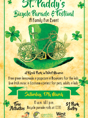 St. Patrick's Day fun at Kiroli Park will take place