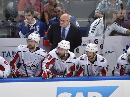 NHL: Stanley Cup Playoffs-Washington Capitals at Tampa Bay Lightning