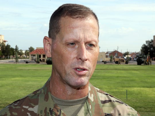 Maj. Gen. Patrick E. Matlock, assumes command of the 1st Armored Division and Fort Bliss.