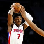 Pistons' Johnson excited to see fully healthy team