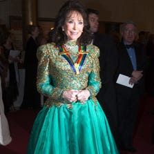 WASHINGTON, DC - DECEMBER 7:   Loretta Lynn arrives at the Kennedy Center Honors December 7, 2003 in Washington, DC. (Photo by Brendan Smialowski/Getty Images)
