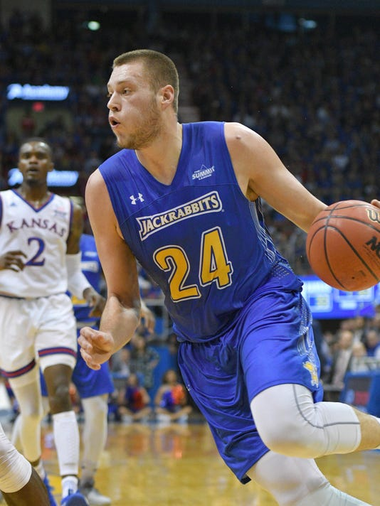 NCAA Basketball: South Dakota State at Kansas