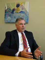 Mike DiStefano at Pinnacle Financial Partners Wednesday,
