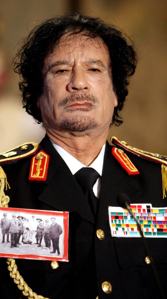 Libyan leader Muammar Gaddafi died in 2011, but a state