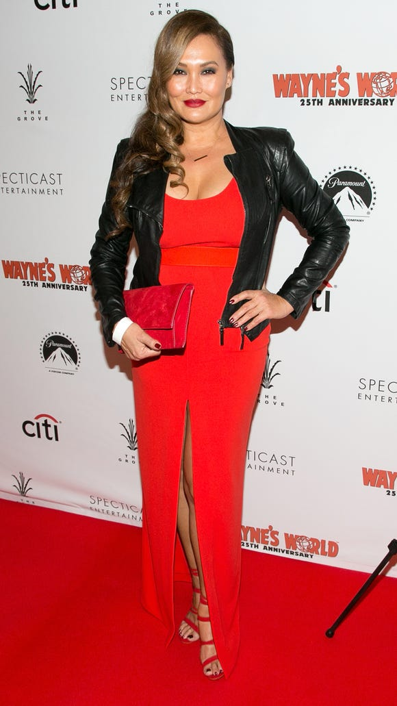 Tia Carrere, who plays Cassandra, attends the 'Wayne's
