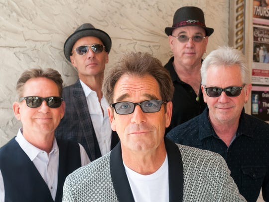 Huey Lewis and the News (from left): Bill Gibson, John