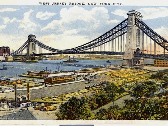 bridge postcard