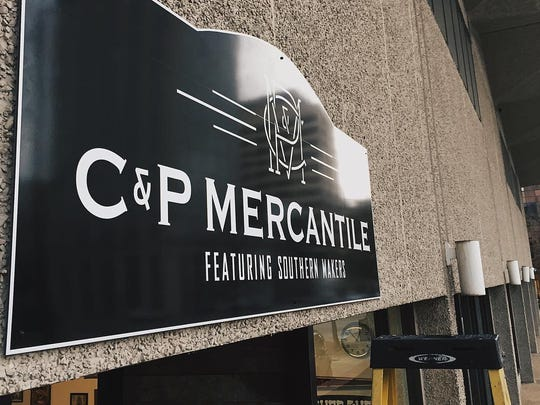 C&P Mercantile is open six days a week in downtown Montgomery.