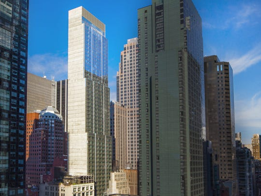 Hyatt Centric Times Square New York is the largest