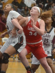 Allison McBride and Lakeland received the No. 1 seed